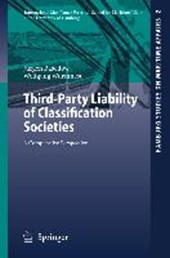 Third-Party Liability of Classification Societies | Jürgen Basedow |