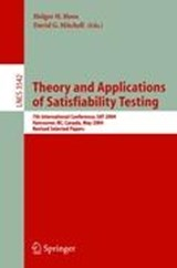 Theory and Applications of Satisfiability Testing | auteur onbekend |