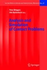 Analysis and Simulation of Contact Problems | auteur onbekend |