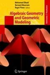 Algebraic Geometry and Geometric Modeling | auteur onbekend |
