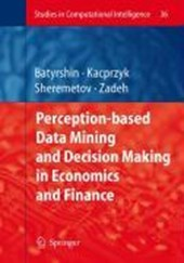 Perception-Based Data Mining and Decision Making in Economics and Finance |  |