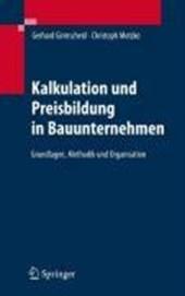 Kalkulation Und Preisbildung in Bauunternehmen