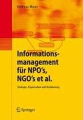 Informationsmanagement für NPOs, NGOs et al