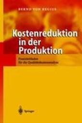 Kostenreduktion in der Produktion