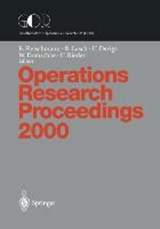 Operations Research Proceedings | auteur onbekend |