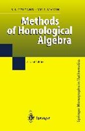 Methods of Homological Algebra | Sergei J. Gelfand |