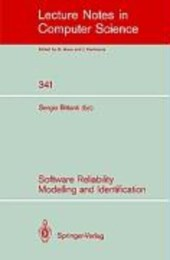 Software Reliability Modelling and Identification