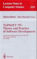 TAPSOFT'97: Theory and Practice of Software Development | auteur onbekend |