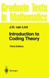Introduction to Coding Theory | Jacobus Hendricus van Lint |