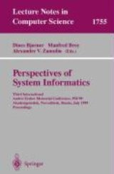 Perspectives of System Informatics | auteur onbekend |