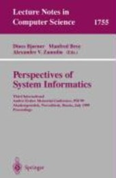 Perspectives of System Informatics
