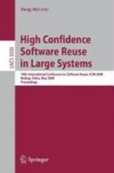 High Confidence Software Reuse in Large Systems | auteur onbekend |