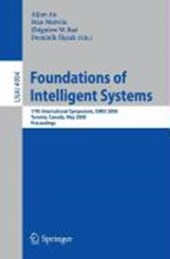 Foundations of Intelligent Systems |  |
