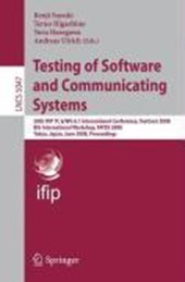 Testing of Software and Communicating Systems |  |