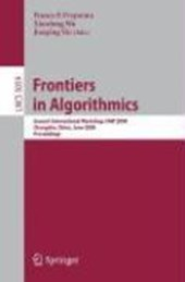 Frontiers in Algorithmics |  |