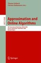 Approximation and Online Algorithms | auteur onbekend |