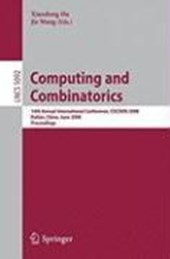 Computing and Combinatorics |  |
