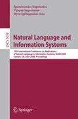 Natural Language and Information Systems | auteur onbekend |