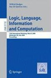 Logic, Language, Information and Computation