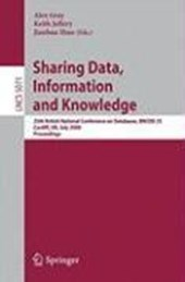 Sharing Data, Information and Knowledge |  |