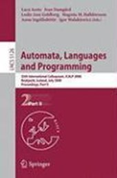 Automata, Languages and Programming |  |