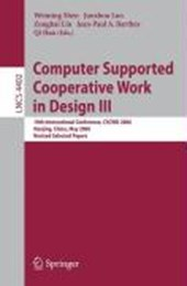 Computer Supported Cooperative Work in Design III |  |