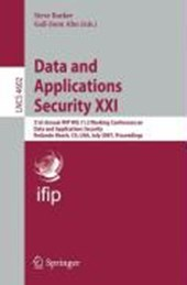 Data and Applications Security XXI