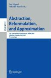 Abstraction, Reformulation, and Approximation |  |