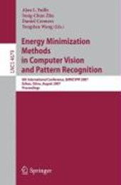 Energy Minimization Methods in Computer Vision and Pattern Recognition |  |
