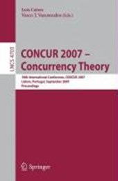 CONCUR 2007 - Concurrency Theory |  |