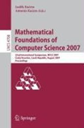 Mathematical Foundations of Computer Science |  |