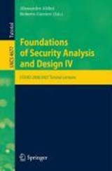 Foundations of Security Analysis and Design IV | auteur onbekend |