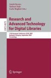 Research and Advanced Technology for Digital Libraries |  |