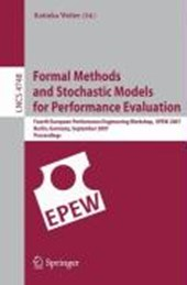 Formal Methods and Stochastic Models for Performance Evaluation