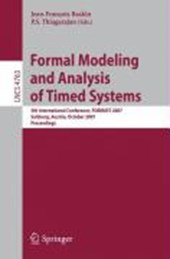 Formal Modeling and Analysis of Timed Systems |  |