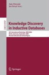 Knowledge Discovery in Inductive Databases |  |