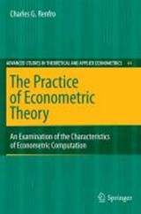 The Practice of Econometric Theory | Charles G. Renfro |