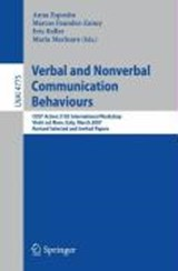 Verbal and Nonverbal Communication Behaviours | auteur onbekend |