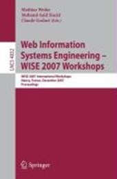 Web Information Systems Engineering - WISE 2007 Workshops |  |
