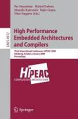 High Performance Embedded Architectures and Compilers | auteur onbekend |