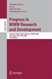 Progress in WWW Research and Development |  |