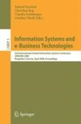Information Systems and e-Business Technologies | auteur onbekend |