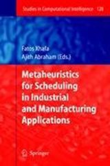 Metaheuristics for Scheduling in Industrial and Manufacturing Applications | auteur onbekend |