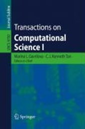 Transactions on Computational Science I