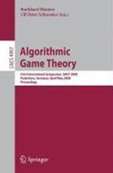 Algorithmic Game Theory | auteur onbekend |