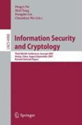 Information Security and Cryptology | auteur onbekend |