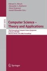 Computer Science - Theory and Applications | auteur onbekend |