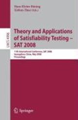 Theory and Applications of Satisfiability Testing - SAT 2008 | auteur onbekend |