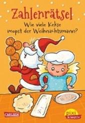 Pixi kreativ Nr. 69: VE 5 Zahlenrätsel: Wie viele Kekse mopst der Weihnachtsmann?
