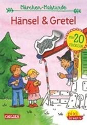 Pixi kreativ Nr. 71: VE 5 Meine Märchen-Malstunde: Hänsel und Gretel